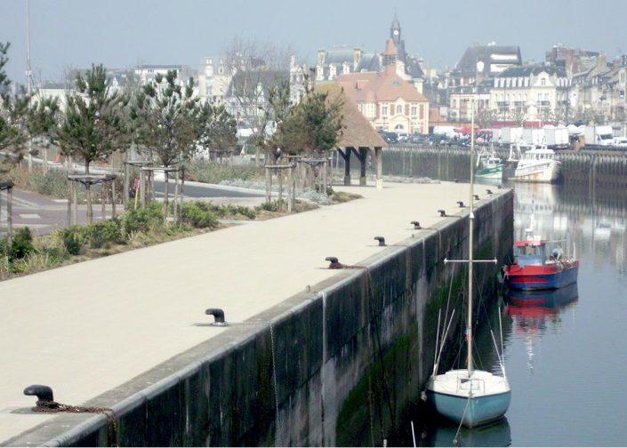 Grenaillage asphalte Deauville