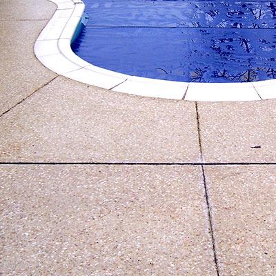 Bouchardage piscine
